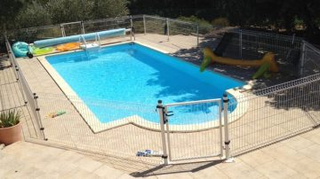 Vallas para piscina